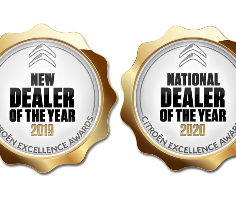 Citroen Dealer Off the Year Award.