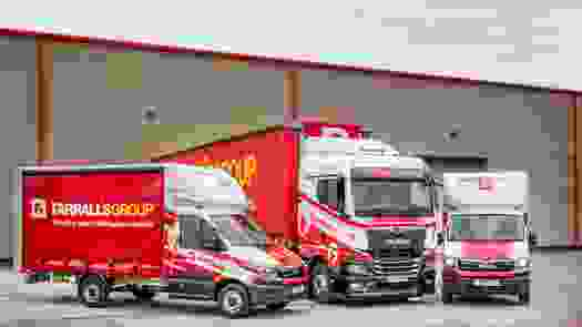 Chester based Farrall's Group move up a gear with the arrival of their first New Generation MAN TGX Trucks and TGE Vans.