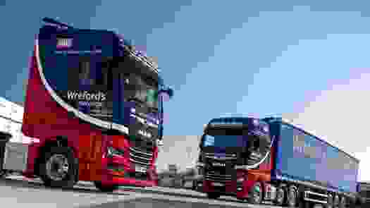 Wreford's Transport of Northampton celebrate the Long Haul to Success with the arrival of their first New Generation MAN TGX Trucks.