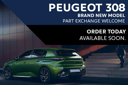 Peugeot 308 - Order Today
