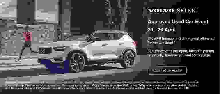 Volvo Selekt Virtual Approved Used Car Event