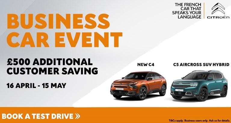 Business Car Event!