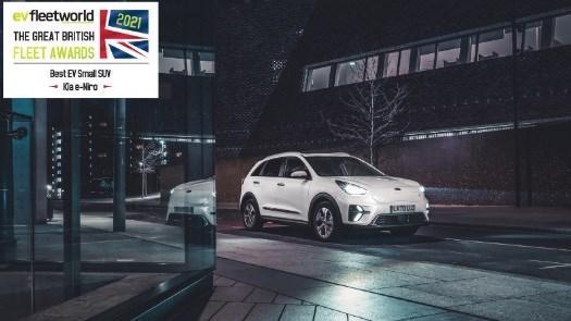 Kia e-Niro Wins 'Best EV Small SUV' 2021