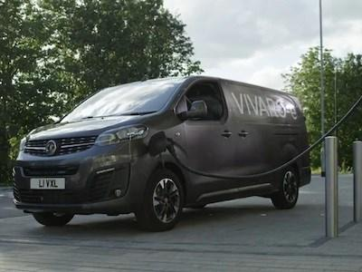 Vauxhall Vivaro-e Earns 'Van of the Year' 2021