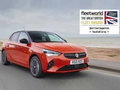 Vauxhall Corsa Wins 'Best Fleet Supermini' For 2021