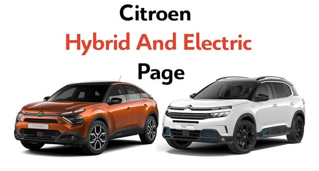 Electric and Hybrid Range at Sherwoods