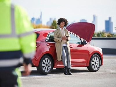 Free Roadside Assistance with your next Kia Service