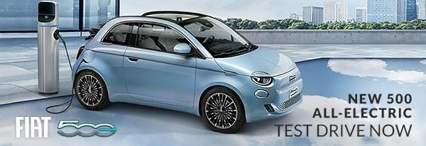 Fiat 500e Available to Test Drive