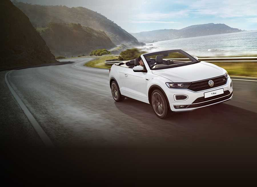 on selected T-Roc Cabriolet stock models