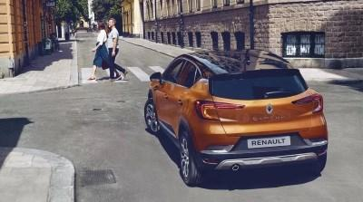 Renault All-New Captur Motability Offers