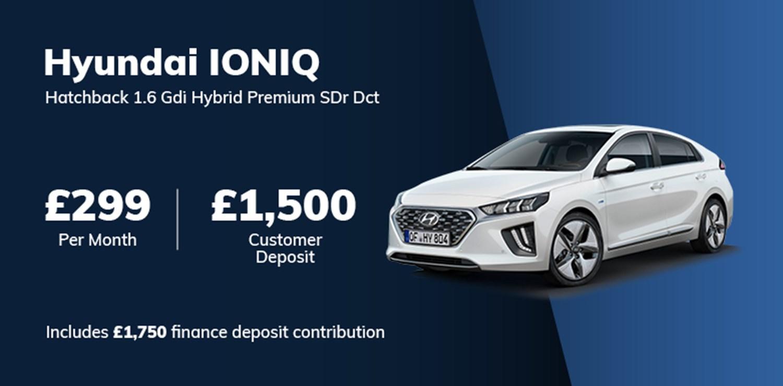 Hyundai IONIQ Hybrid Offer 2021