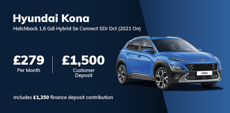 Hyundai Kona Hybrid 2021