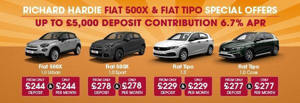 Fiat 500X & TIPO SPECIALS