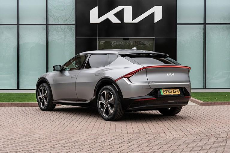 KIA REVEALS UK SPECIFICATIONS AND PRICING FOR THE EV6