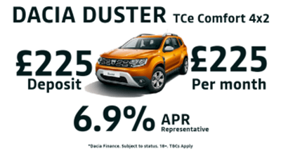 Dacia Duster Comfort TCe 130 4x2 PCP Special Offer