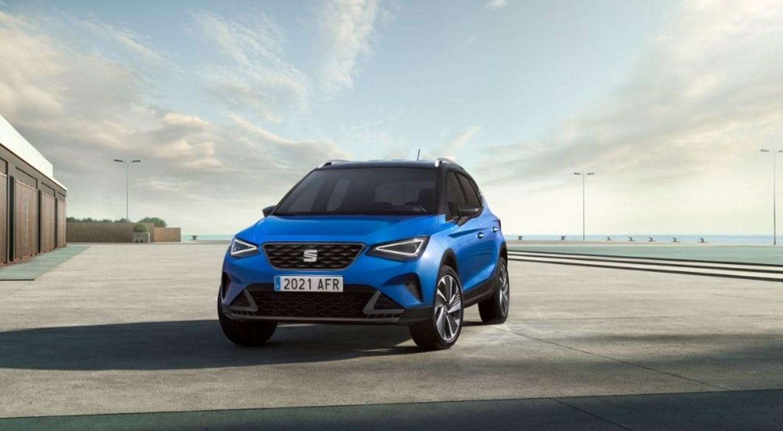 New SEAT Arona 2021 Sapphire Blue