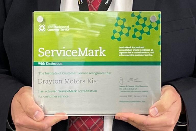 DRAYTON MOTORS EARN INDUSTRY-FIRST SERVICEMARK ACCREDITATION