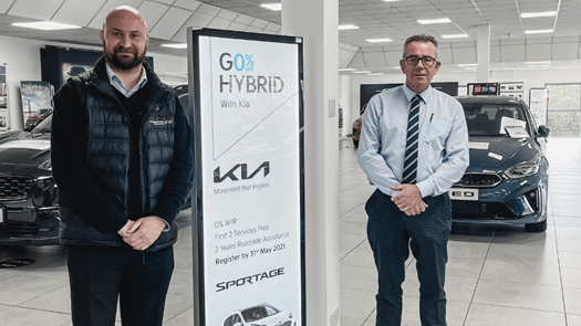 Chippenham Kia team place 2nd in the country for sales excellence