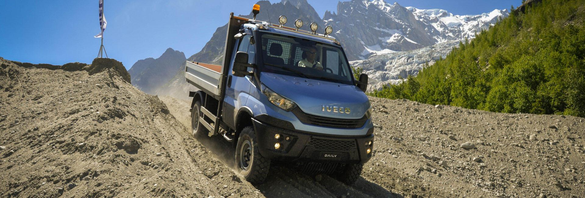 New IVECO Daily 4x4 Launch Tour coming to North East Truck and Van