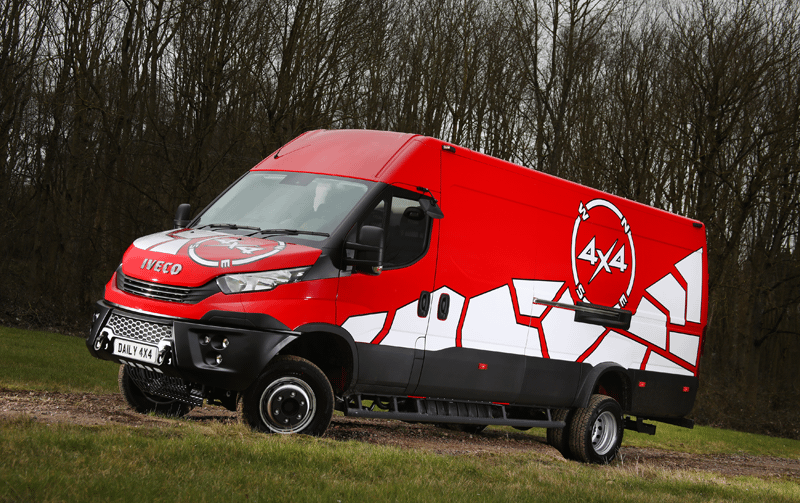 See the New IVECO Daily 4x4!