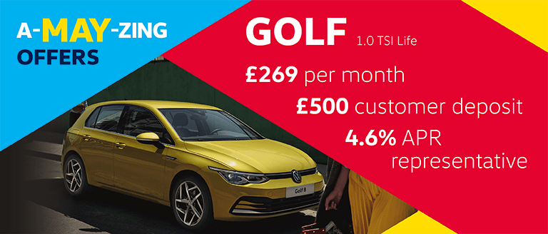 A-MAY-ZING Caffyns Offer - Volkswagen Golf 8 Life