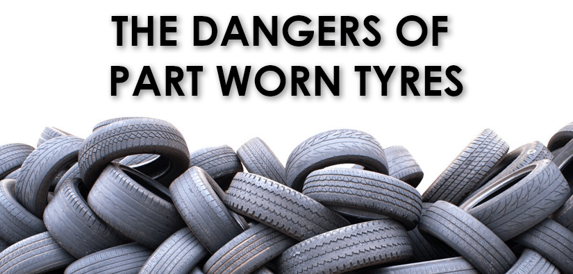 Why you should NEVER purchase part worn tyres!