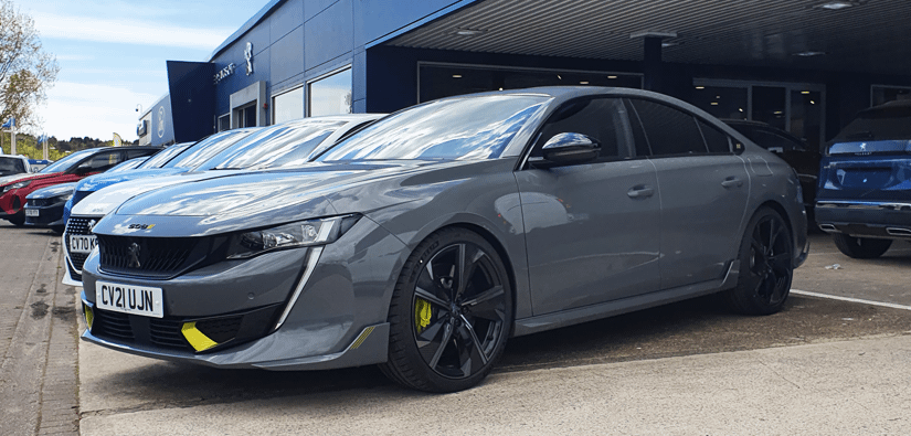 Test Drive the New Peugeot 508 Sports Engineered Edition