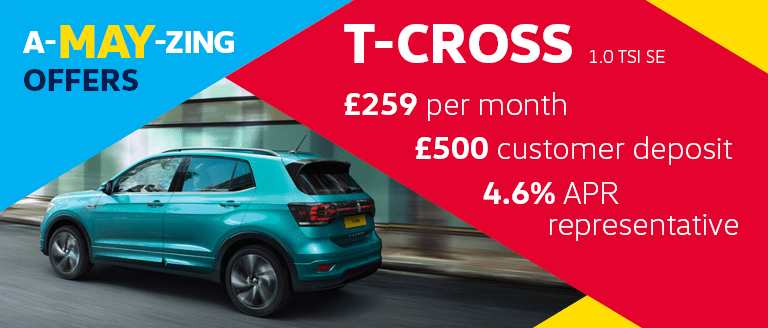 A-MAY-ZING Caffyns Offer - Volkswagen T-Cross