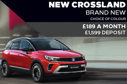 All-New Vauxhall Crossland - £189 A Month   £1,599 Deposit - PCP