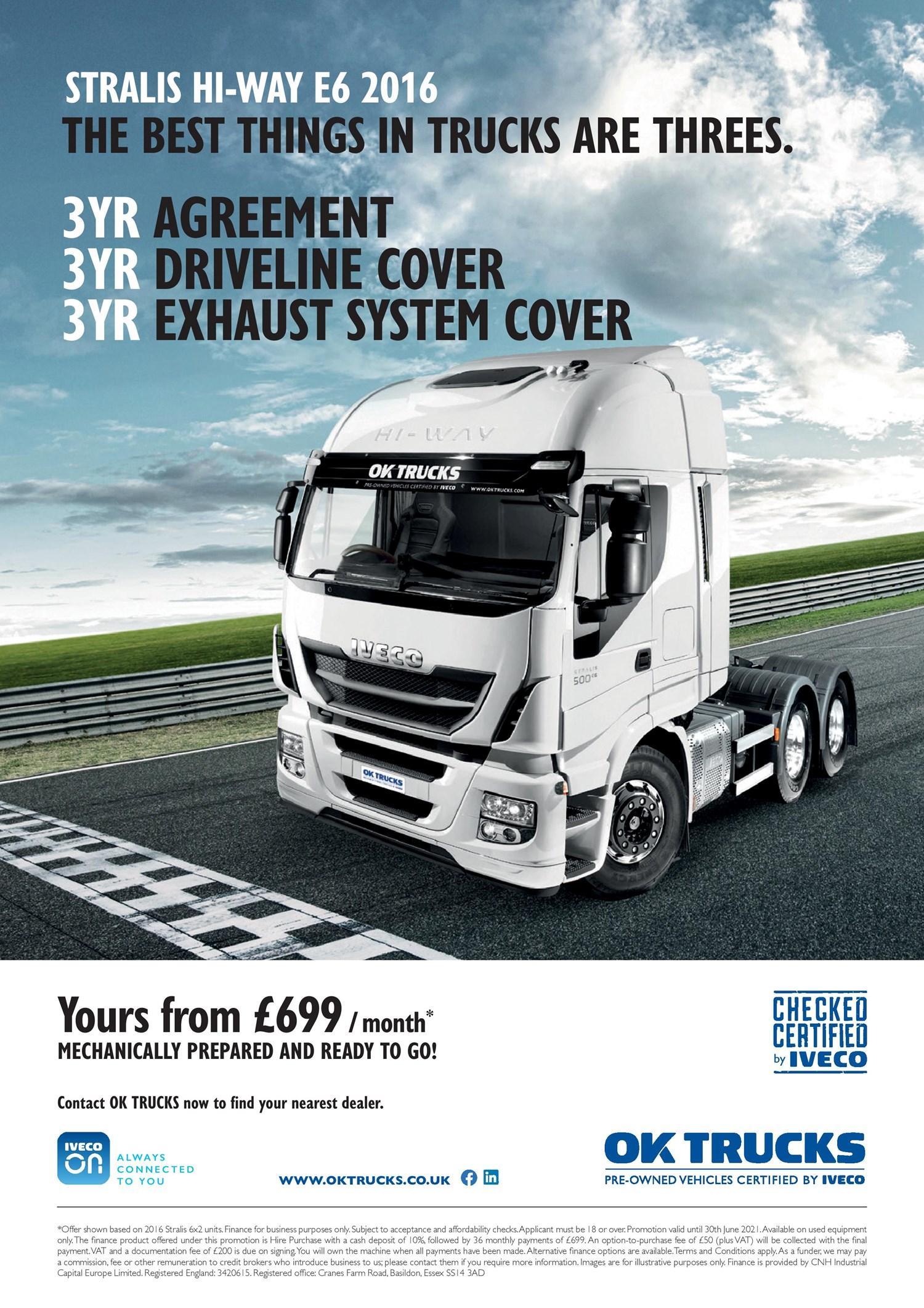 NETV OK Trucks £699 campaign