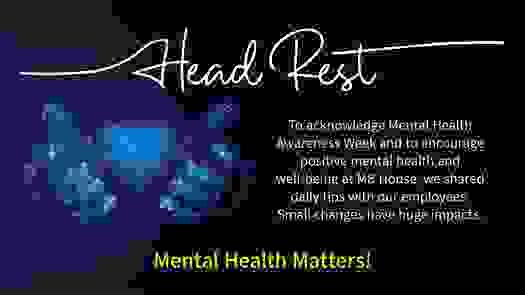 Mental Health Awareness Week May 2021