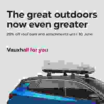 20% off roof bars and attachments!