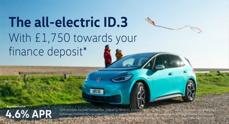 The future is ready and waiting. Step into it with the all-electric ID.3.
