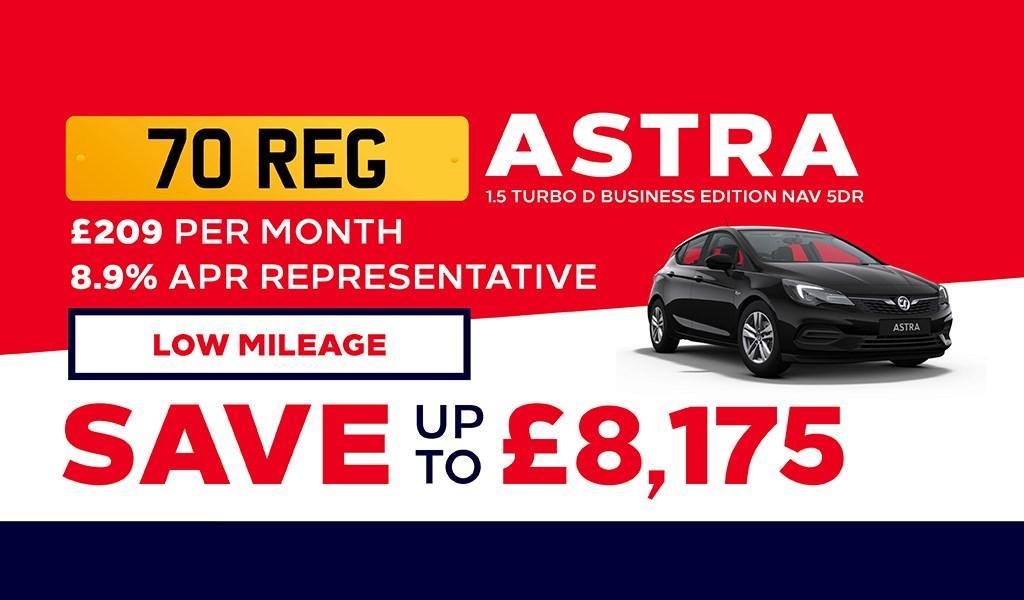 Caffyns Vauxhall Astra