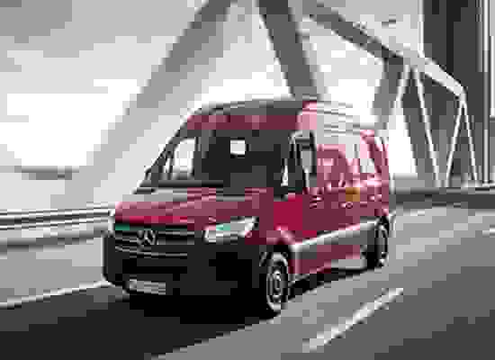 The Mercedes Benz Sprinter has once again retained the Large Van of the Year honour at the Great British Fleet Awards