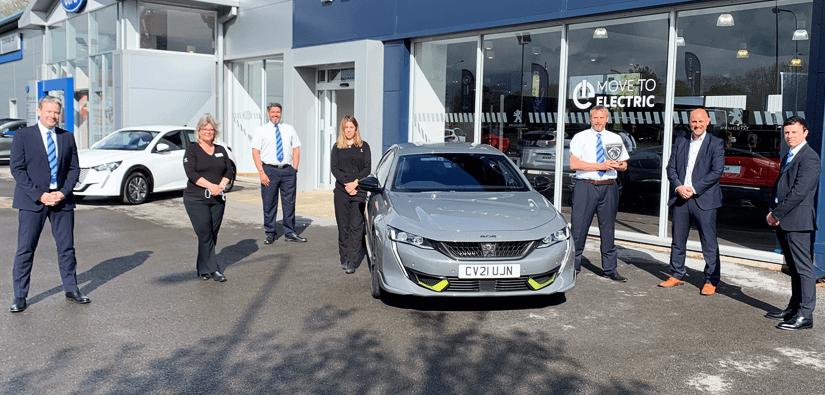 Peugeot Golden Lion Award Win!