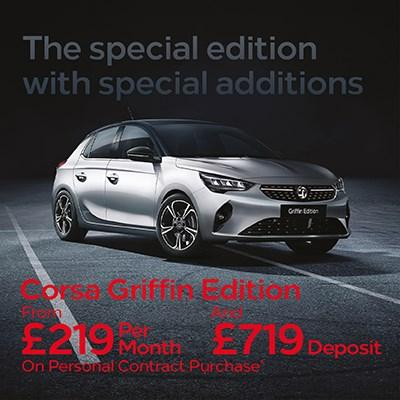 New Corsa Griffin Offer