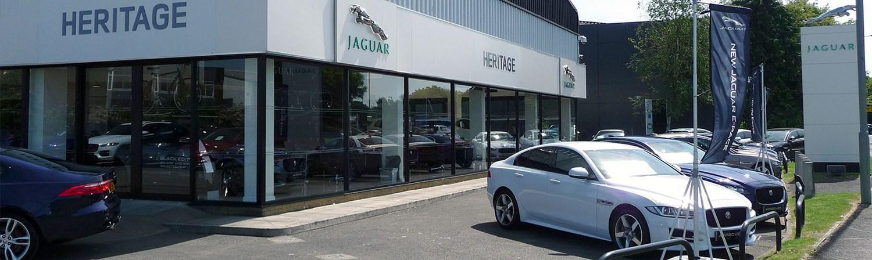 Heritage Jaguar dealership