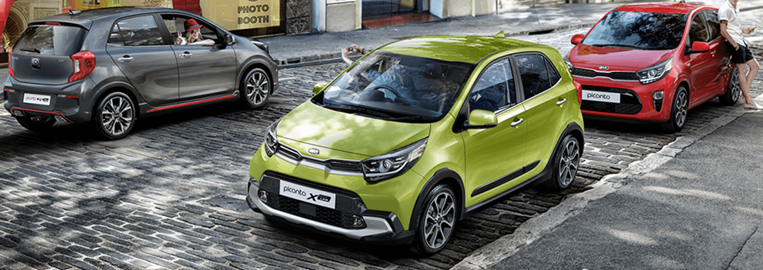 The New Picanto from £11,200