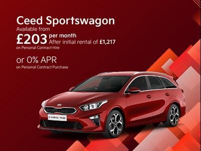 Kia Ceed Sportswagon Latest Offers