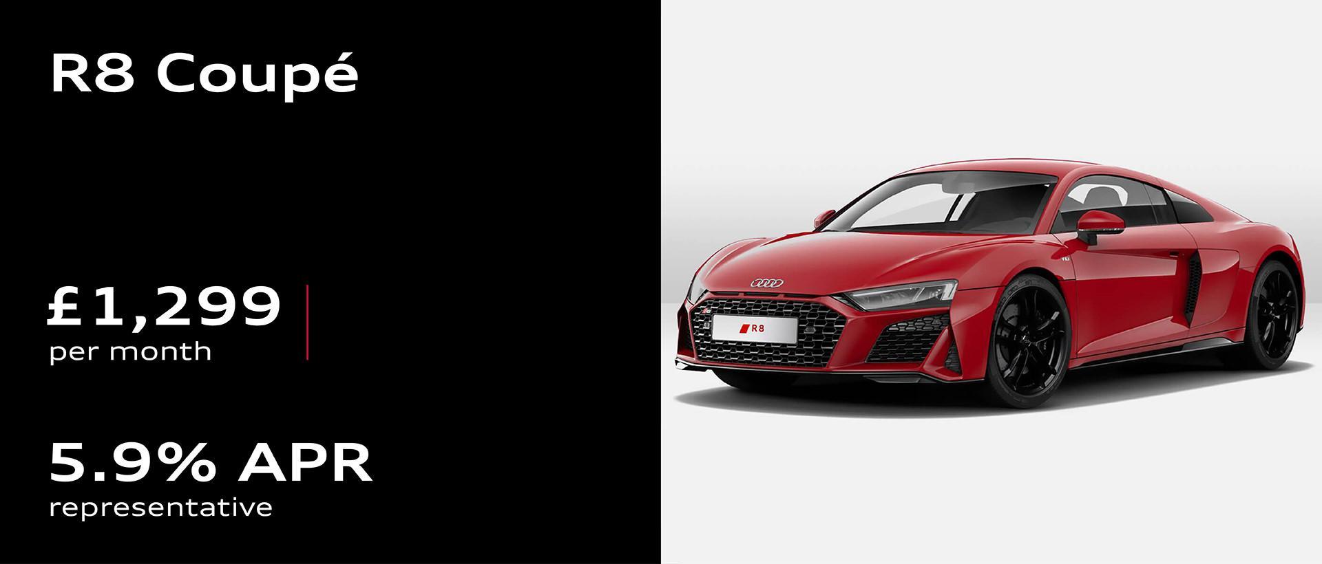 Audi R8 Coupé Finance Offer