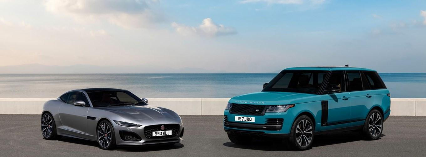 Jaguar F-Pace and Land Rover Discovery