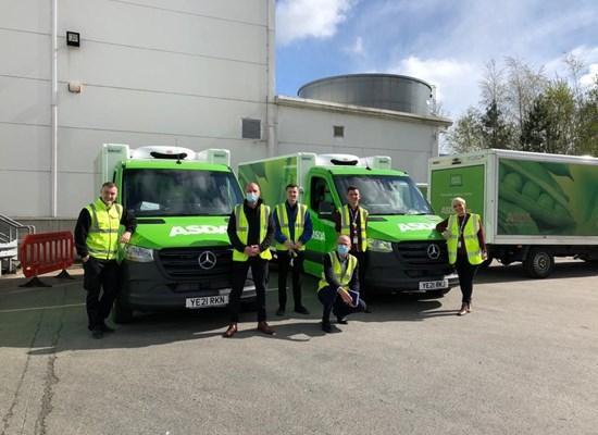 Welcome Asda Fleet to MBNI Truck & Van