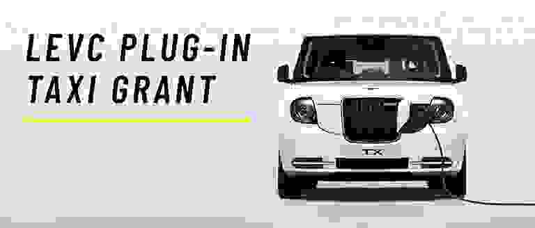 LEVC Plug-in Taxi Grant