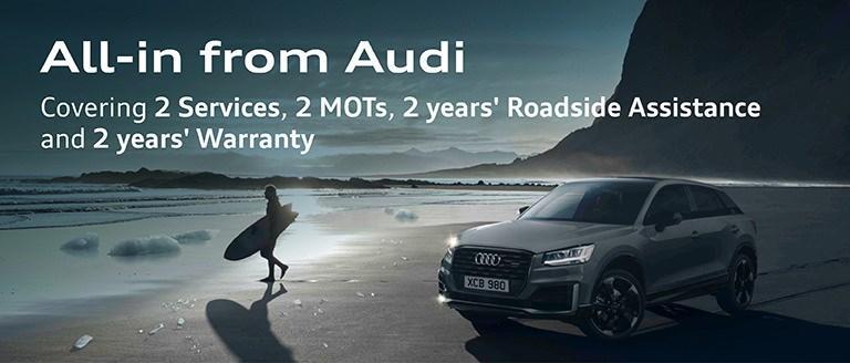 Audi All-in Servicing & Warranty