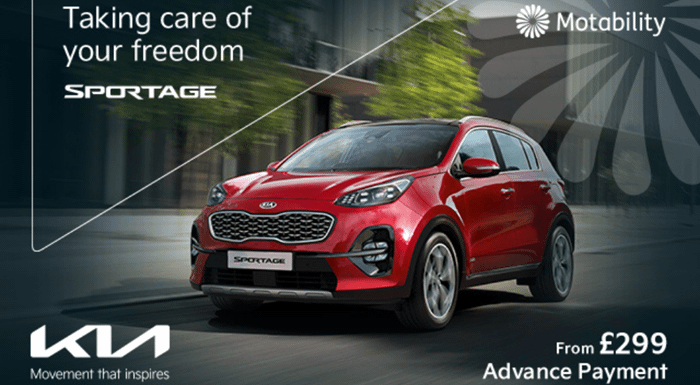 Kia Sportage from £299 Advance Payment