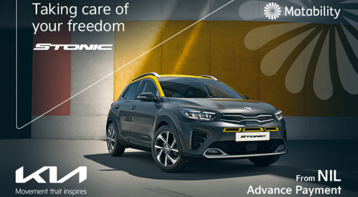 Kia Stonic from NIL Advance Payment