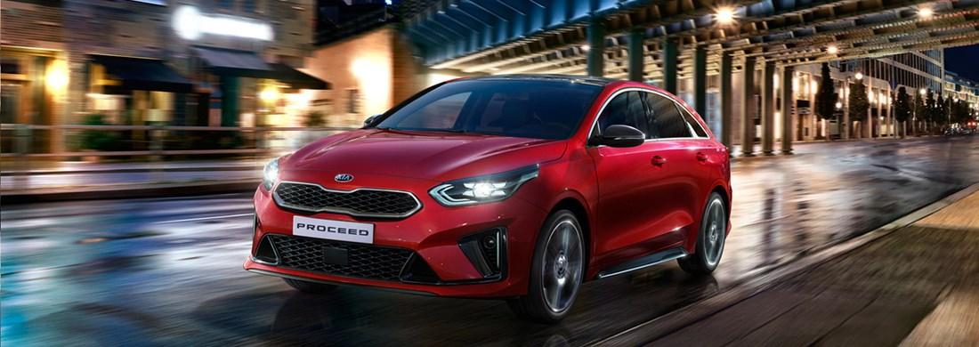The Kia ProCeed from £25,480