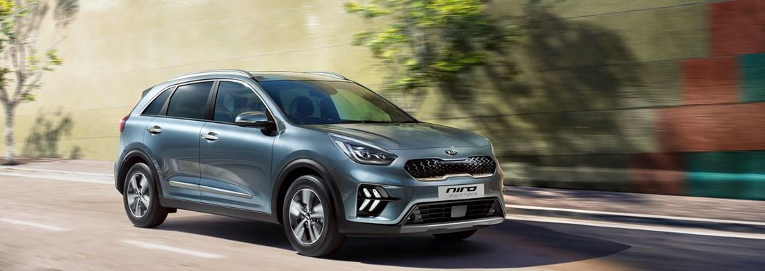 The Niro Plug-In Hybrid from £30,815