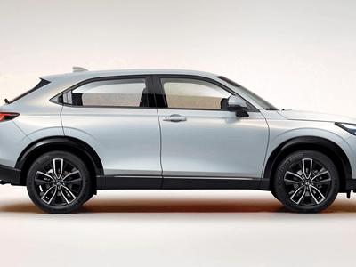 The All-New 2021 Honda HR-V - Interior Focus